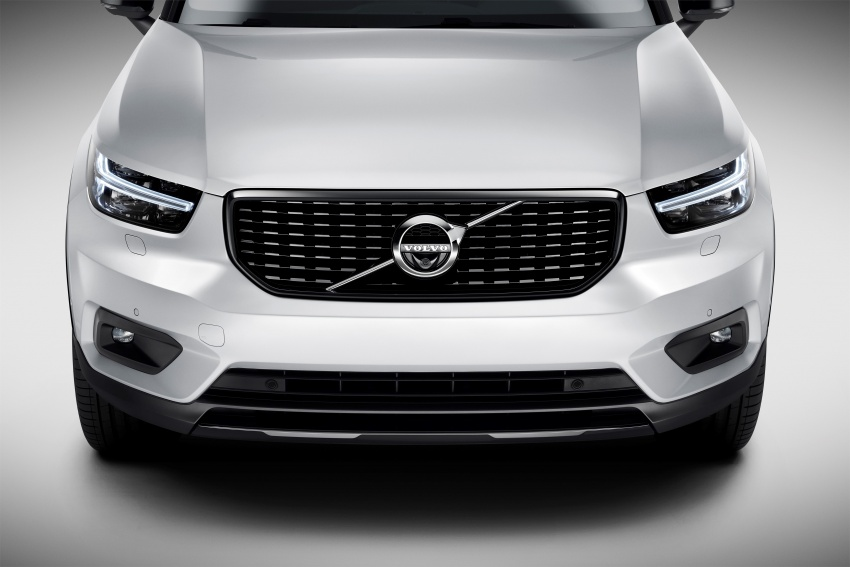 Volvo XC40 officially revealed – CMA platform, Drive-E engines, first model offered in 'Care by Volvo' service Image #714194