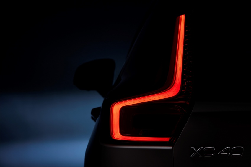 Volvo XC40 officially revealed – CMA platform, Drive-E engines, first model offered in 'Care by Volvo' service Image #714198