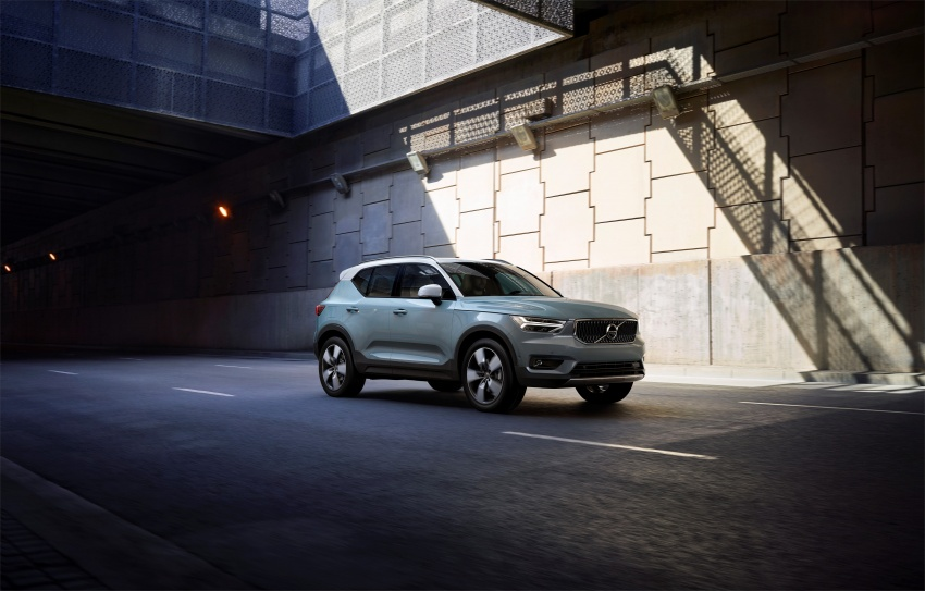 Volvo XC40 officially revealed – CMA platform, Drive-E engines, first model offered in 'Care by Volvo' service Image #714202