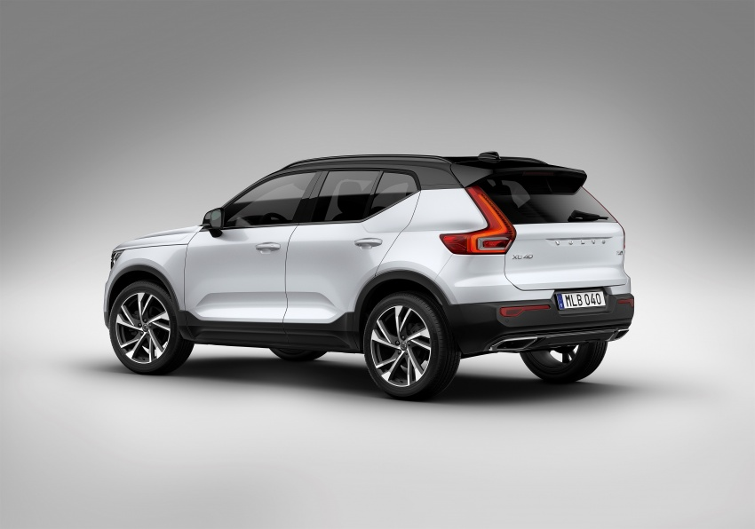 Volvo XC40 officially revealed – CMA platform, Drive-E engines, first model offered in 'Care by Volvo' service Image #714175