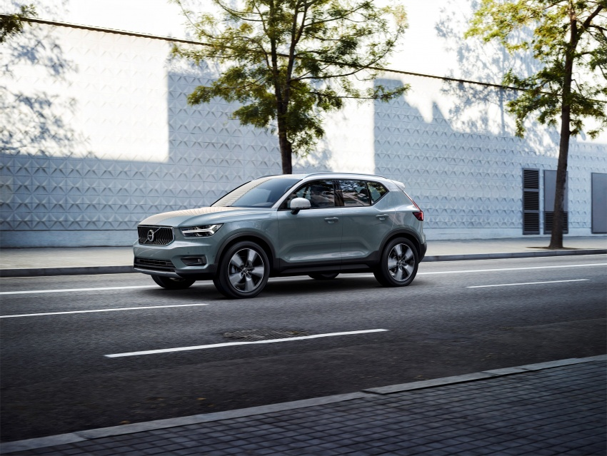 Volvo XC40 officially revealed – CMA platform, Drive-E engines, first model offered in 'Care by Volvo' service Image #714204