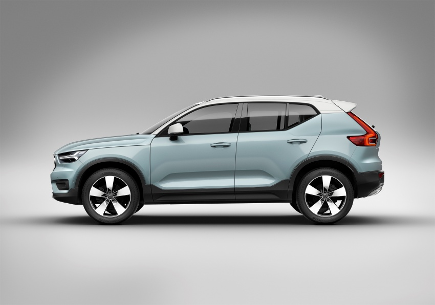 Volvo XC40 officially revealed – CMA platform, Drive-E engines, first model offered in 'Care by Volvo' service Image #714205
