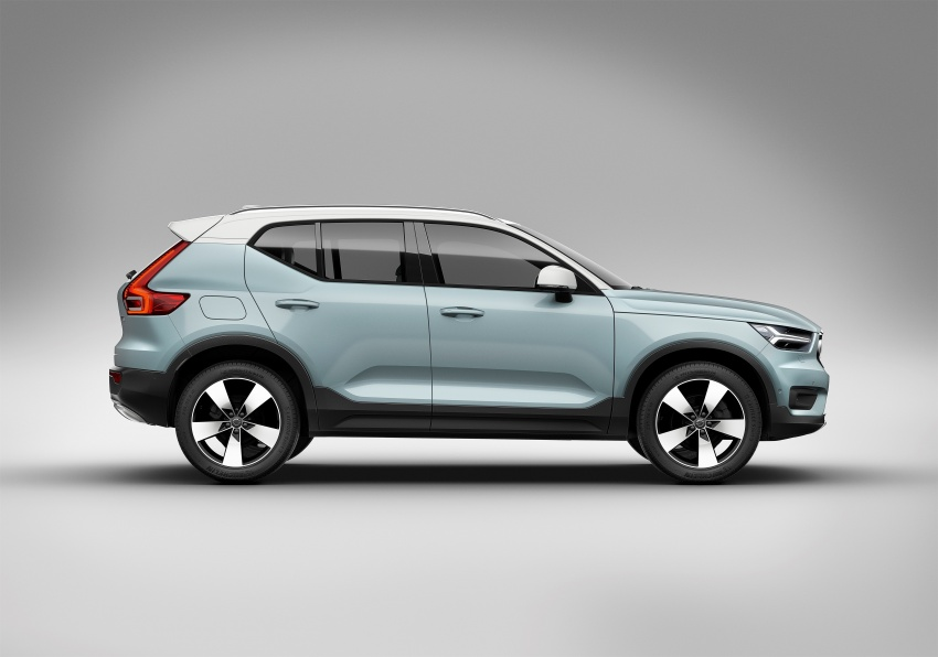 Volvo XC40 officially revealed – CMA platform, Drive-E engines, first model offered in 'Care by Volvo' service Image #714206