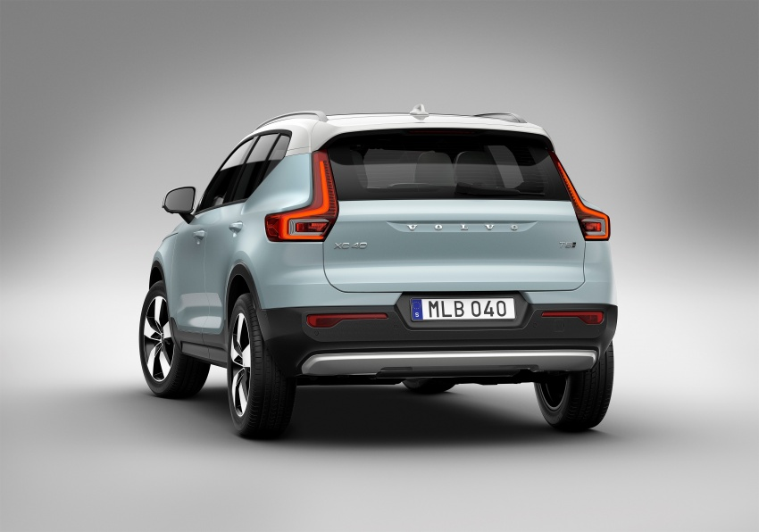 Volvo XC40 officially revealed – CMA platform, Drive-E engines, first model offered in 'Care by Volvo' service Image #714207