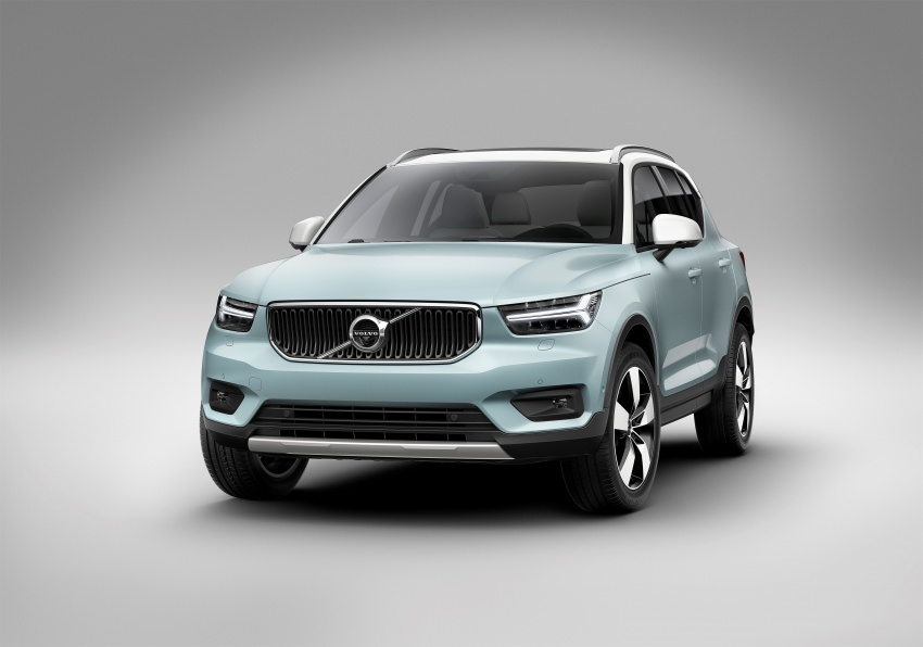 Volvo XC40 officially revealed – CMA platform, Drive-E engines, first model offered in 'Care by Volvo' service Image #714208
