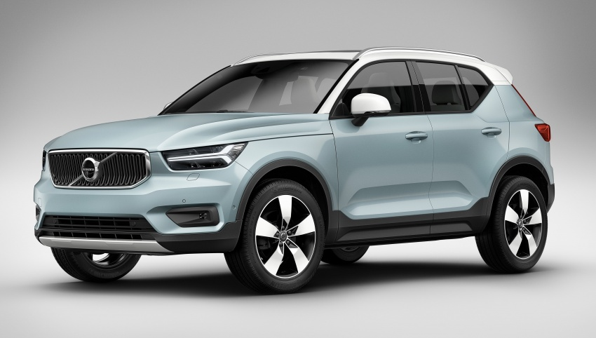 Volvo XC40 officially revealed – CMA platform, Drive-E engines, first model offered in 'Care by Volvo' service Image #714209