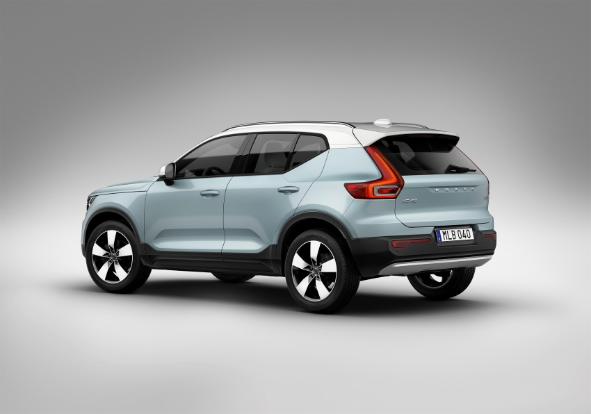 Volvo XC40 officially revealed – CMA platform, Drive-E engines, first model offered in 'Care by Volvo' service Image #714210