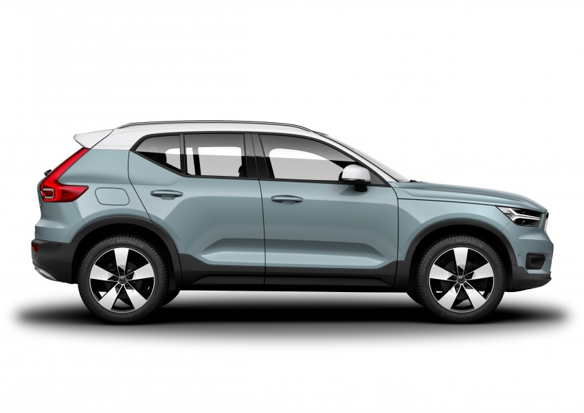Volvo XC40 officially revealed – CMA platform, Drive-E engines, first model offered in 'Care by Volvo' service Image #714212