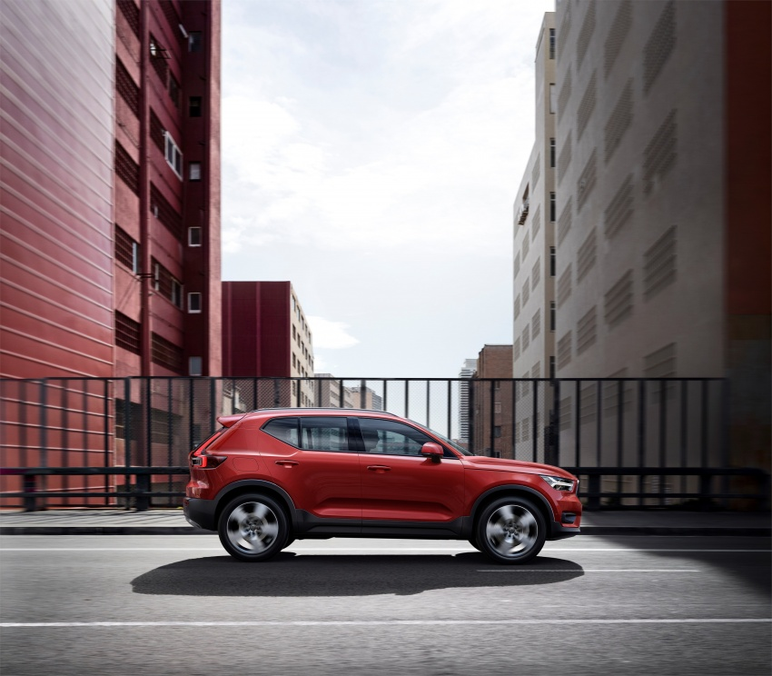 Volvo XC40 officially revealed – CMA platform, Drive-E engines, first model offered in 'Care by Volvo' service Image #714214