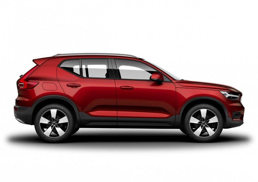 Volvo XC40 officially revealed – CMA platform, Drive-E engines, first model offered in 'Care by Volvo' service Image #714215