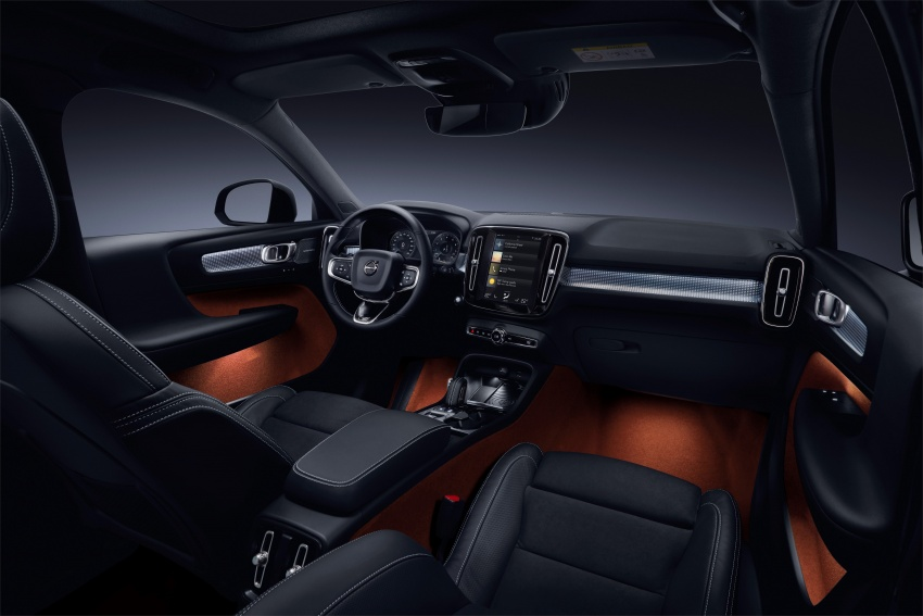Volvo XC40 officially revealed – CMA platform, Drive-E engines, first model offered in 'Care by Volvo' service Image #714216
