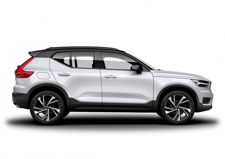Volvo XC40 officially revealed – CMA platform, Drive-E engines, first model offered in 'Care by Volvo' service Image #714177