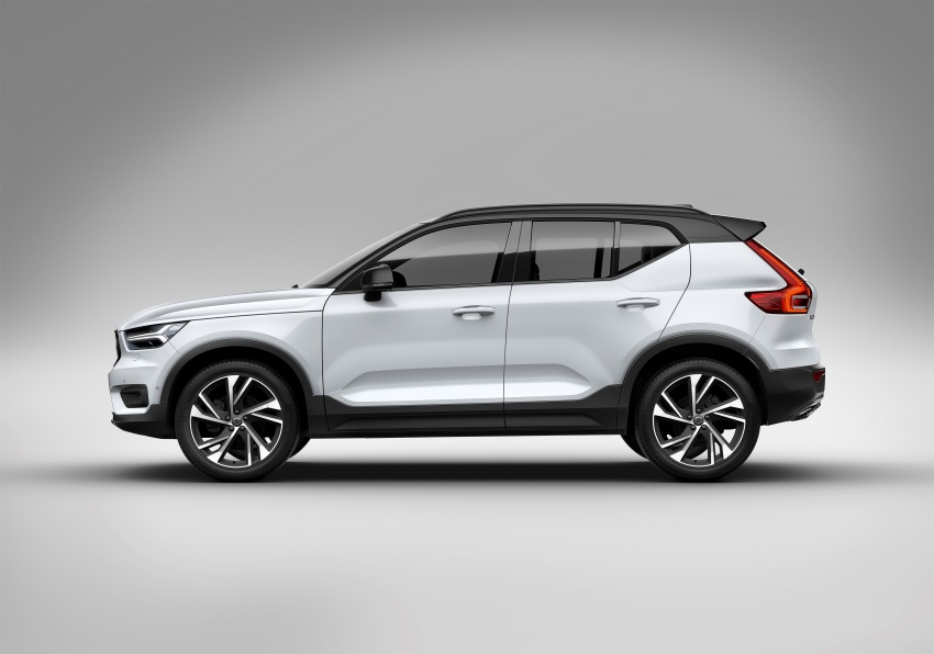 Volvo XC40 officially revealed – CMA platform, Drive-E engines, first model offered in 'Care by Volvo' service Image #714178