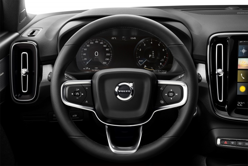 Volvo XC40 officially revealed – CMA platform, Drive-E engines, first model offered in 'Care by Volvo' service Image #714232
