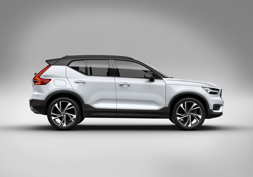 Volvo XC40 officially revealed – CMA platform, Drive-E engines, first model offered in 'Care by Volvo' service Image #714179