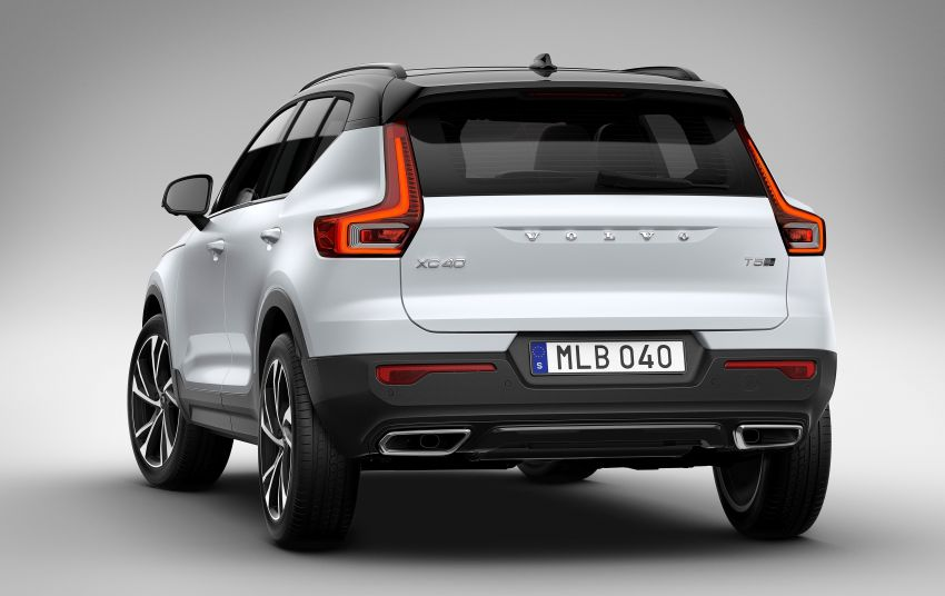 Volvo XC40 officially revealed – CMA platform, Drive-E engines, first model offered in 'Care by Volvo' service Image #714180