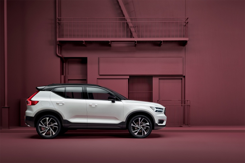 Volvo XC40 officially revealed – CMA platform, Drive-E engines, first model offered in 'Care by Volvo' service Image #714181