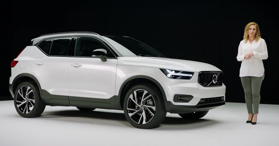 video volvo xc40 detailed in walk around video tour paul. Black Bedroom Furniture Sets. Home Design Ideas
