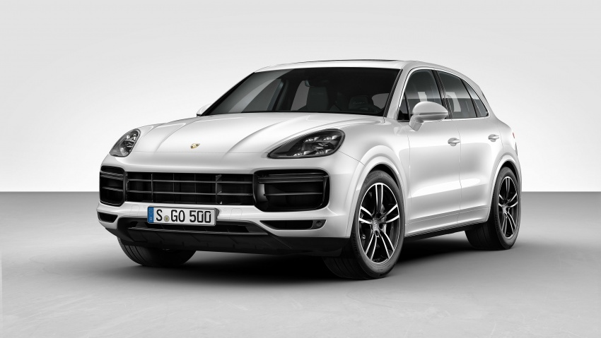 2018 Porsche Cayenne Turbo launched in Frankfurt Image #710038