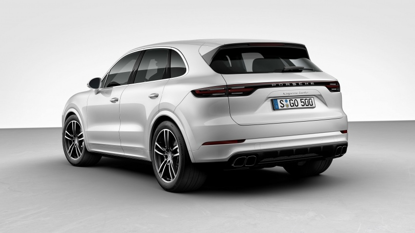 2018 Porsche Cayenne Turbo launched in Frankfurt Image #710039