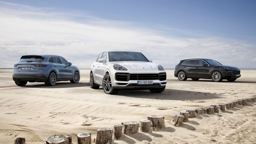 2018 Porsche Cayenne Turbo launched in Frankfurt Image #710040