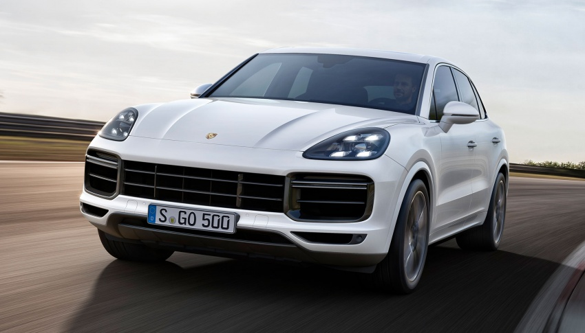 2018 Porsche Cayenne Turbo launched in Frankfurt Image #710028