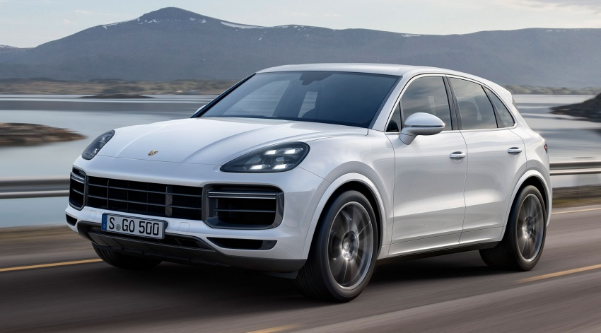 2018 Porsche Cayenne Turbo launched in Frankfurt Image #710029