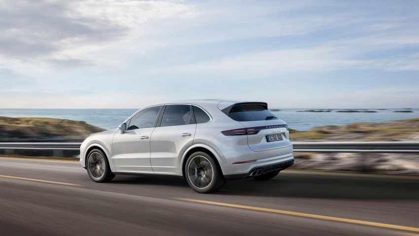 2018 Porsche Cayenne Turbo launched in Frankfurt Image #710031