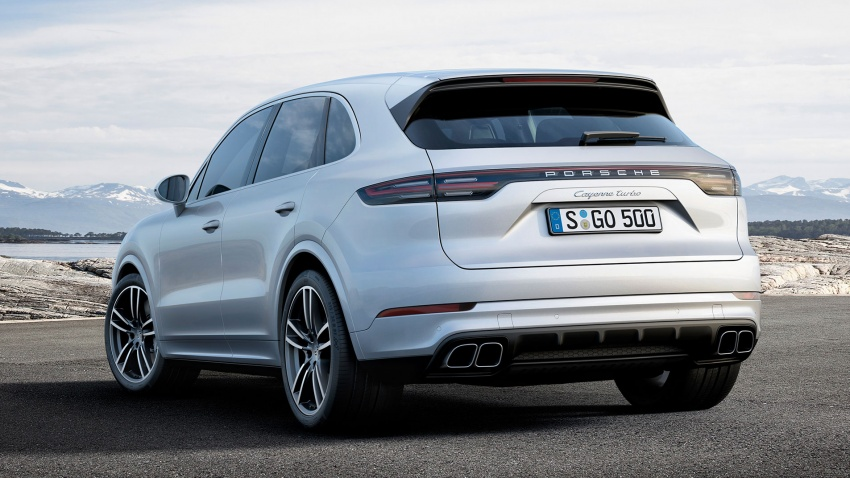 2018 Porsche Cayenne Turbo launched in Frankfurt Image #710032