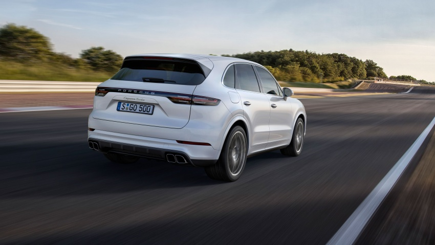 2018 Porsche Cayenne Turbo launched in Frankfurt Image #710043