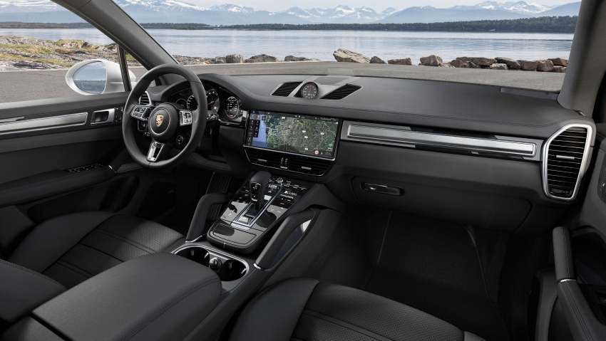 2018 Porsche Cayenne Turbo launched in Frankfurt Image #710036
