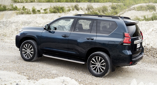 2018 toyota land cruiser prado. fine toyota under the hood land cruiser gains a 28 litre d4d turbodiesel with  177 hp and 450 nm or 420 for manual versions western europe market  in 2018 toyota land cruiser prado p