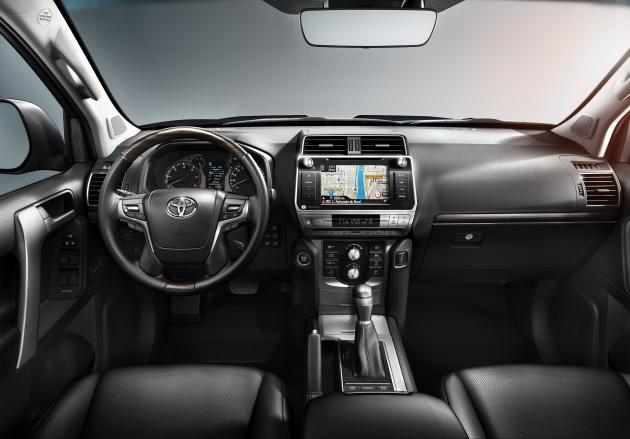 2018 Toyota Land Cruiser Prado Facelift Unveiled