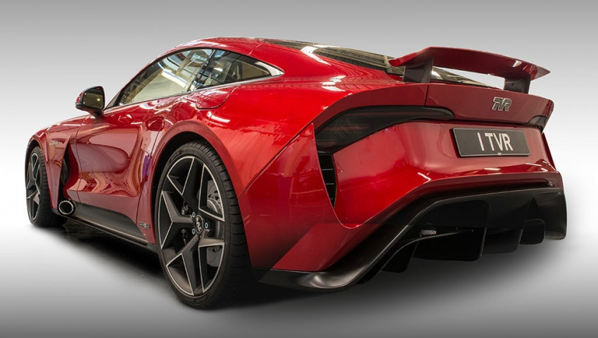 TVR Griffith unveiled with 5.0 litre V8, manual gearbox Image #708133