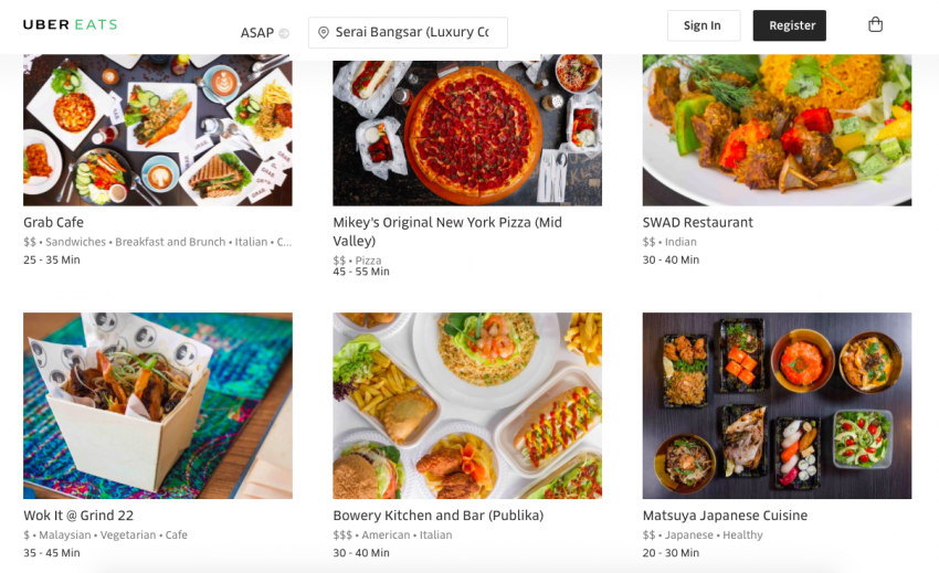UberEATS food delivery service now in Kuala Lumpur Image #713942