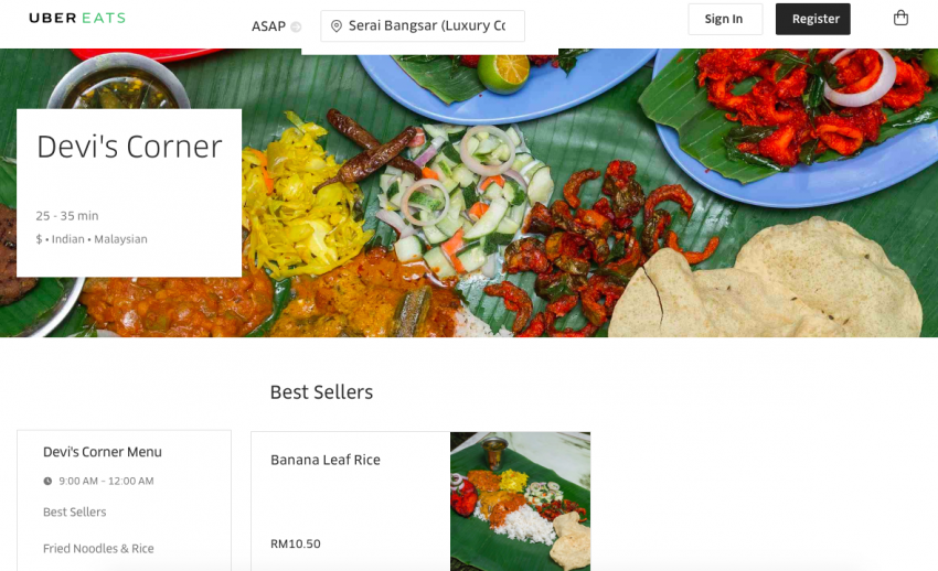 UberEATS food delivery service now in Kuala Lumpur Image #713952