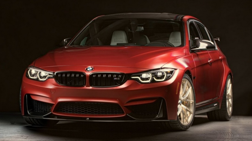 BMW M3 30 Years American Edition – one-off model! Image #730579