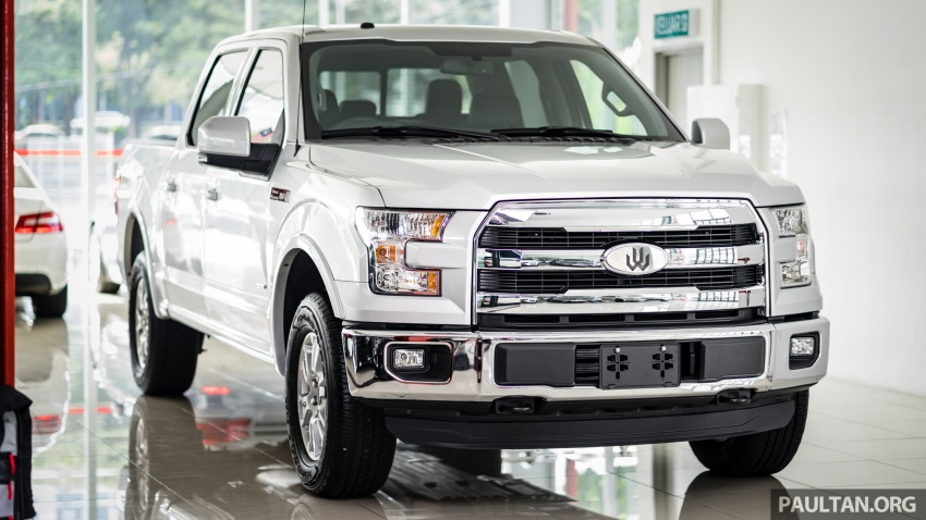 Ford F-150 previewed in Malaysia – CKD right-hand drive, four engine variants available, from RM389k Image #724577