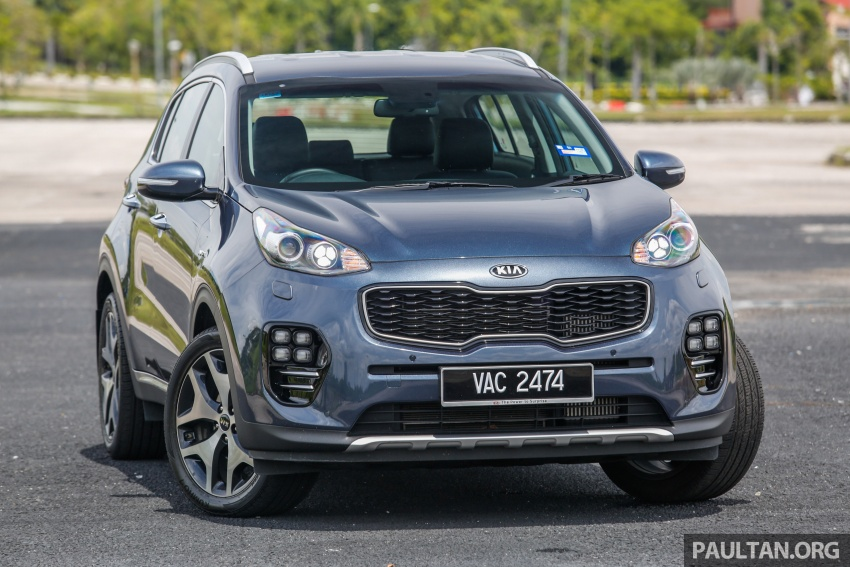 FIRST DRIVE: Kia Sportage 2.0L GT CRDi video review Image #722518