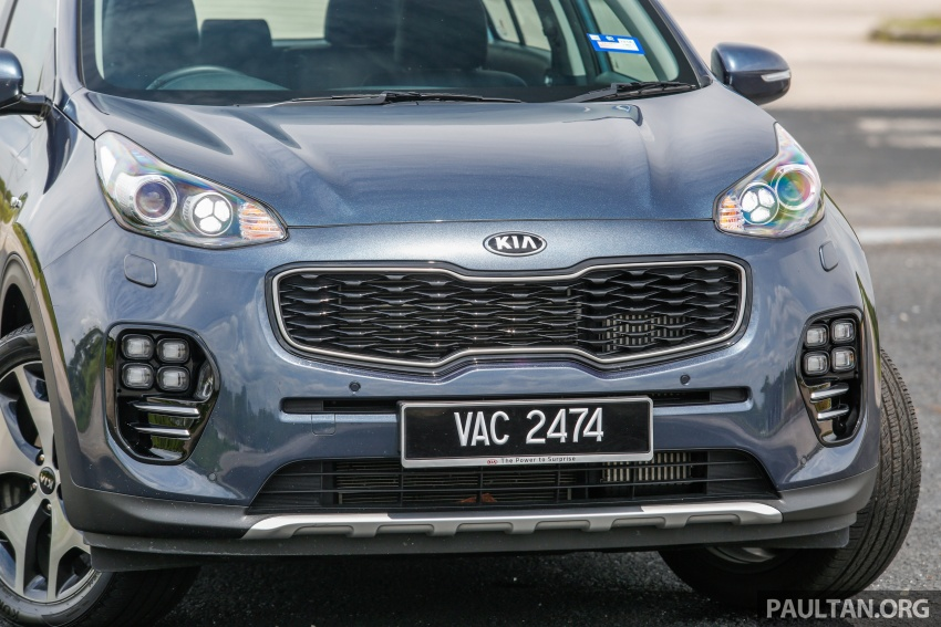 FIRST DRIVE: Kia Sportage 2.0L GT CRDi video review Image #722532