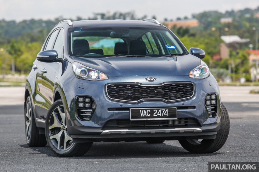 FIRST DRIVE: Kia Sportage 2.0L GT CRDi video review Image #722519
