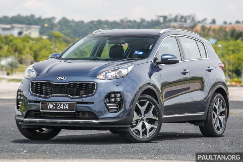 FIRST DRIVE: Kia Sportage 2.0L GT CRDi video review Image #722521