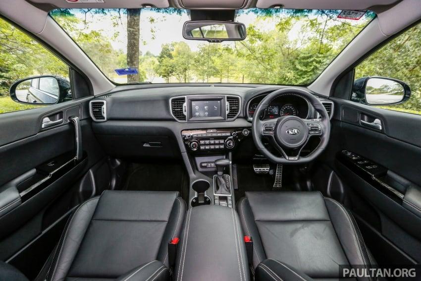 FIRST DRIVE: Kia Sportage 2.0L GT CRDi video review Image #722585