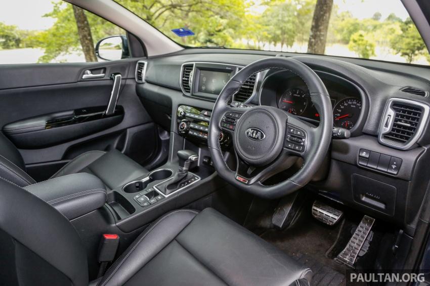 FIRST DRIVE: Kia Sportage 2.0L GT CRDi video review Image #722586