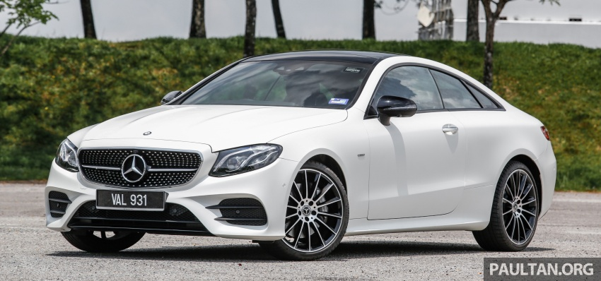 FIRST DRIVE: C238 Mercedes-Benz E-Class Coupe Image #718945