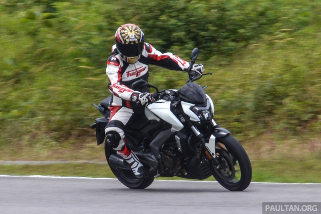 FIRST RIDE: 2018 Modenas Dominar 400 - 35 PS, thumping good fun, and