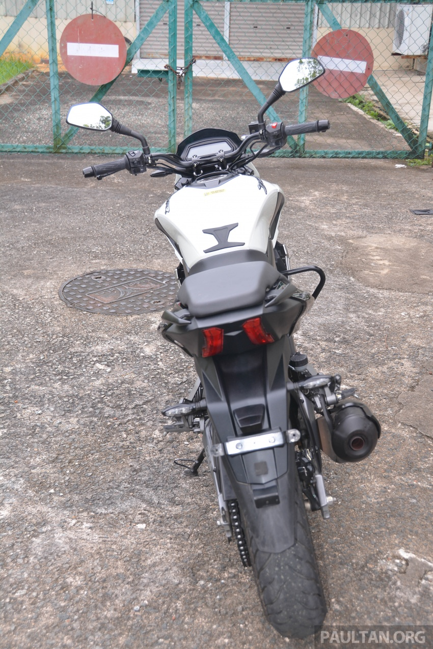 FIRST RIDE: 2018 Modenas Dominar 400 – 35 PS, thumping good fun, and it's coming to Malaysia soon! Image #720674