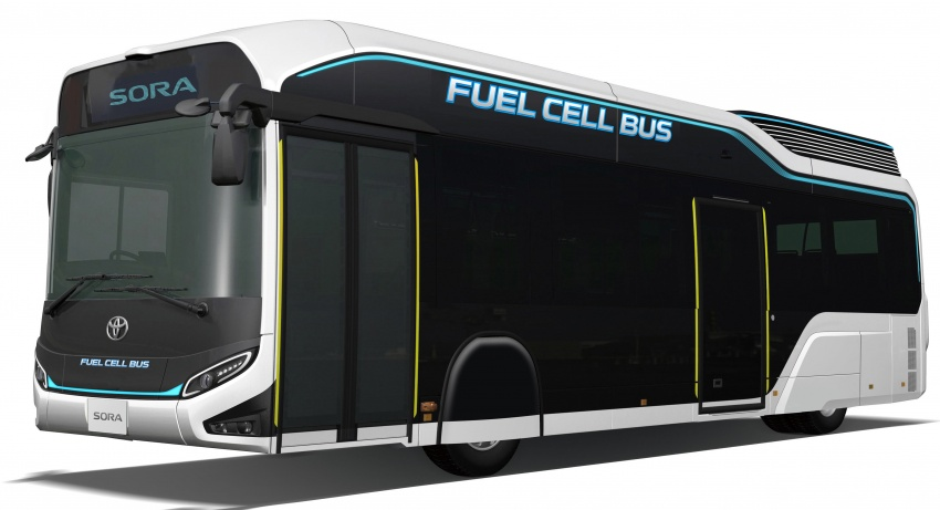 Toyota Sora – fuel cell bus concept with 200 km range Image #726117