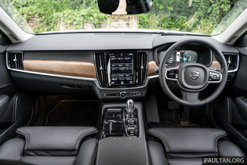 Volvo S90 T8 Twin Engine Inscription CKD launched, 407 hp and 640 Nm plug-in hybrid, from RM368,888 Image #722002