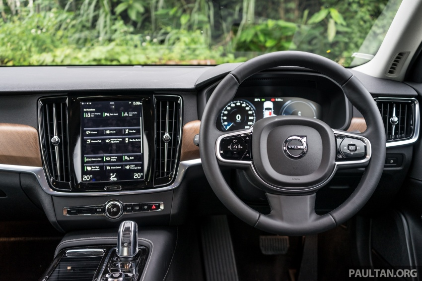 Volvo S90 T8 Twin Engine Inscription CKD launched, 407 hp and 640 Nm plug-in hybrid, from RM368,888 Image #722003